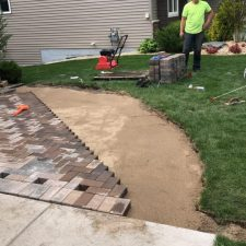 A&W Landscaping paver patios St. Cloud, MN